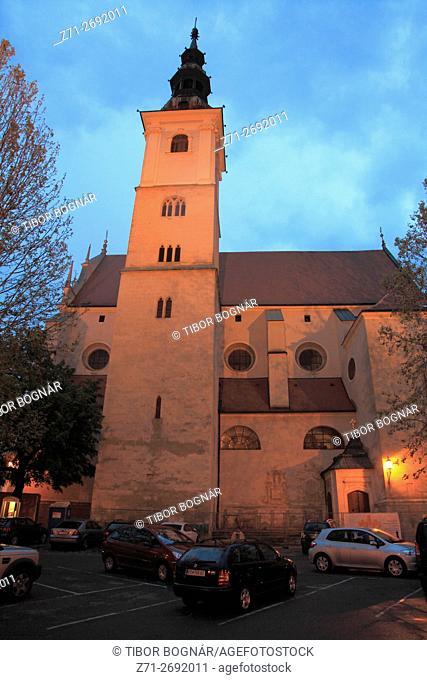 Austria, Lower Austria, Krems an der Donau, Piaristenkirche (Piarist Church)
