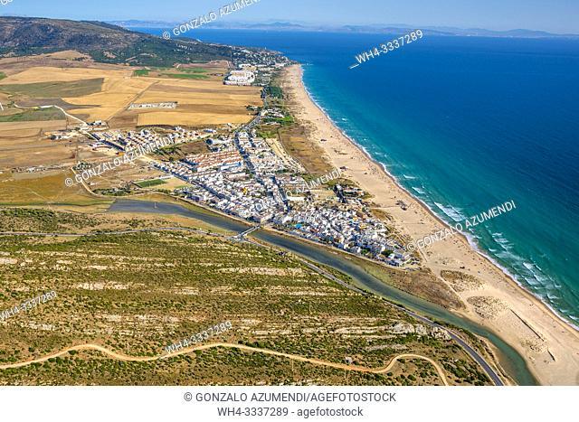 Zahara beach. Zahara de los Atunes. Barbate. Atlantic ocean. Cadiz province. Andalucia. Spain