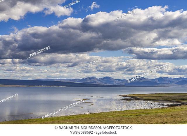 Landscape, Fellsstrond, Breidafjordur, Western Iceland