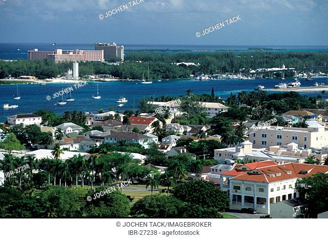 BHS, Bahamas, New Povidence, Nassau: Paradise Island. Independent state in the West Indies, member of Comonwealth of Nations