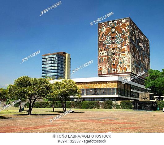 Biblioteca, Universidad Nacional Autónoma de México (UNAM), Ciudad México