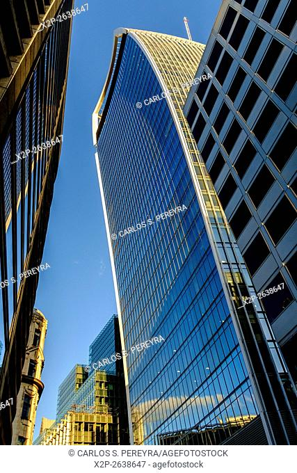 Contemporary architecture in London, England, United Kingdom