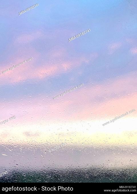 Window-pane; Sea; When; Alsen; Denmark