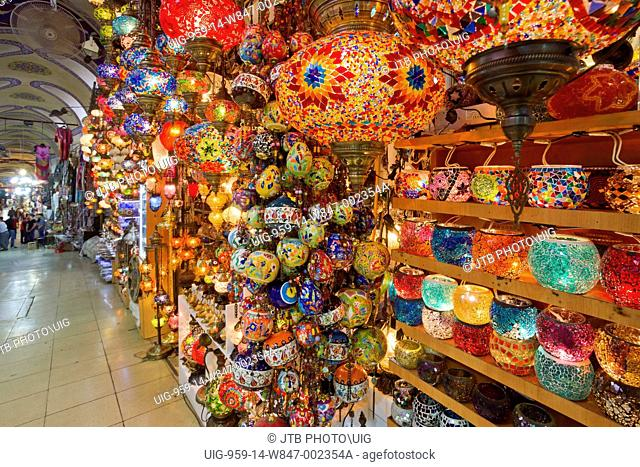 Turkey, Istanbul, Core City, View of lamp for sale