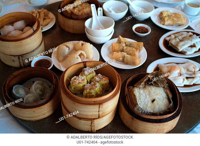 Chinese food sample in Vancouver