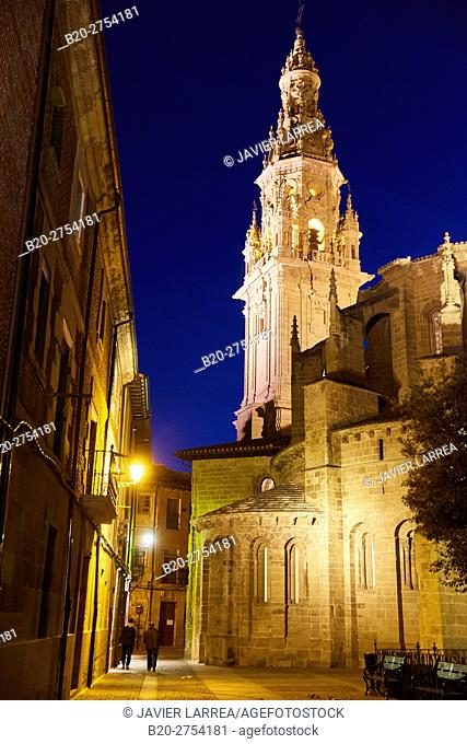 Cathedral of Santo Domingo de la Calzada, Santo Domingo de La Calzada, Way of Saint James, La Rioja, Spain, Europe