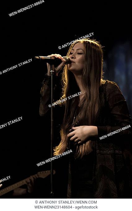 Jasmine Thompson performing live on stage at the O2 Academy Birmingham Featuring: Jasmine Thompson Where: Birmingham, United Kingdom When: 11 Nov 2015 Credit:...
