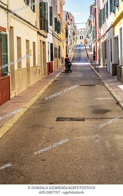 Mahón City. Maó Municipality. Menorca Island. Balearic Islands. Spain