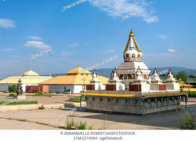 Asia, Mongolia, Ulaan Baatar,Gandan Monastery