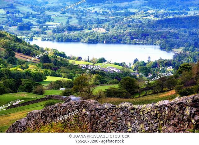 Windermere, Lake District, Cumbria, England, UK