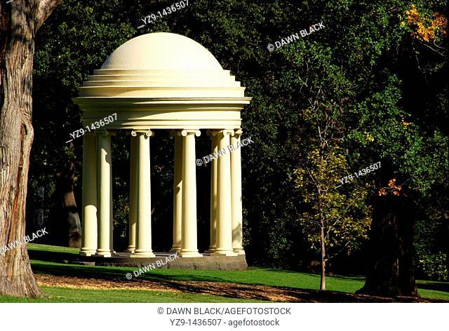 Rotunde Fitzroy Gardens Melbourne Australia