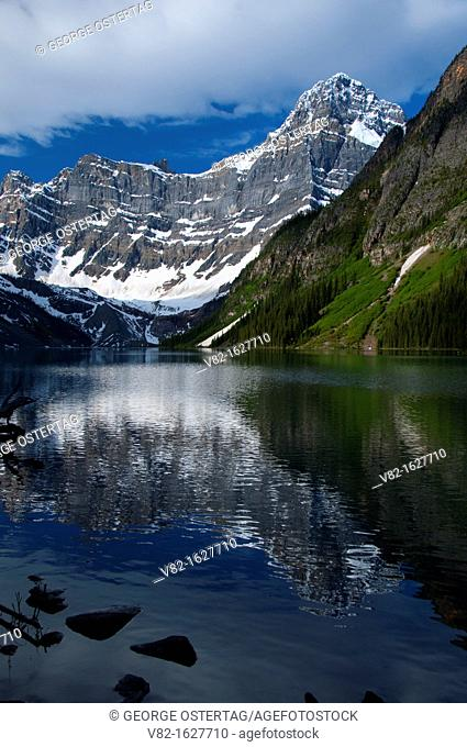 Chephren Lake to Howse Peak, Banff National Park, Alberta, Canada