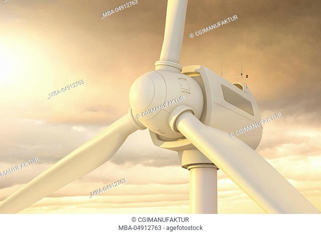 3d, CGI, [M], symbol, wind arrangement, wind motorcycle, wind energy, energy, wind strength