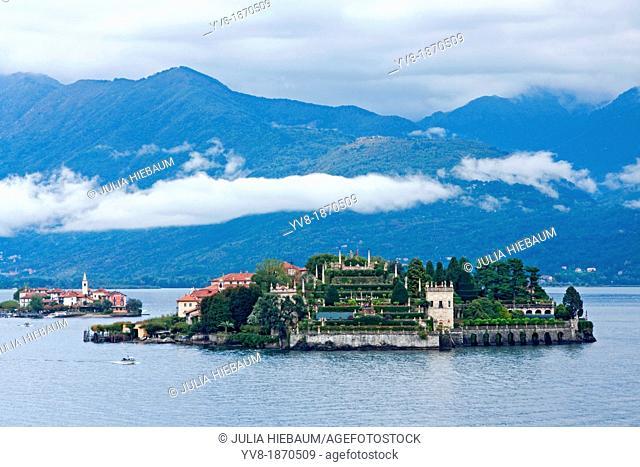 Isola Bella and Isola dei Pescatori, Lake Maggiore, Italy