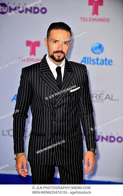 Telemundo's Premios Tu Mundo 'Your World' Awards - Arrivals Featuring: Jose Maria Torre Where: Miami, Florida, United States When: 26 Aug 2016 Credit: JLN...