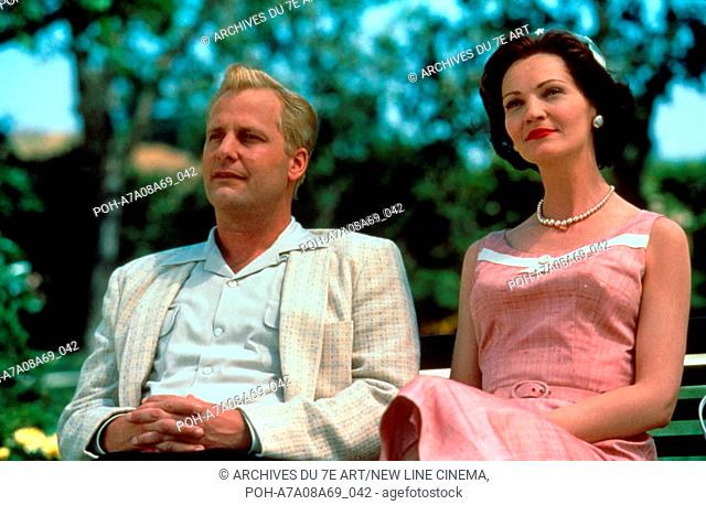 Pleasantville  Year: 1998 USA Joan Allen, Jeff Daniels  Director: Gary Ross. It is forbidden to reproduce the photograph out of context of the promotion of the...