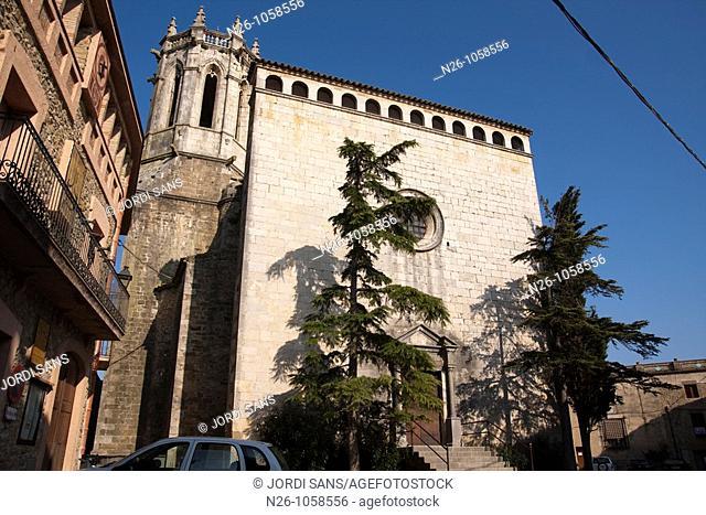 Sant Isidor church , XVI-XVII century , Renaissance gothic , Baix Emporda , La Pera , Girona province , Catalunya , Spain