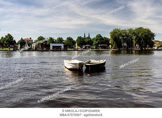 Europe, Poland, Podlaskie Voivodeship, Augustow - Netta river