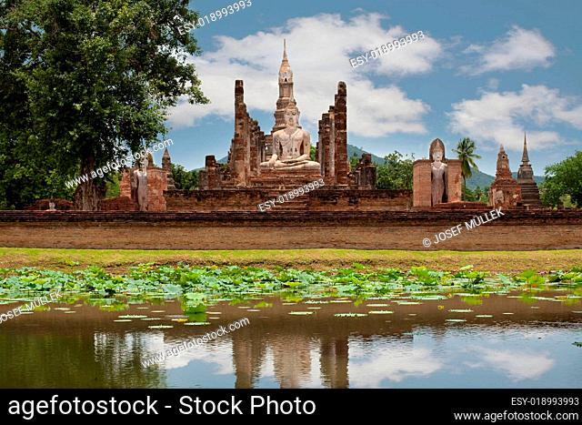 Historisches Sukhothai, Thailand