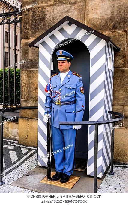 Guard, Prague Castle