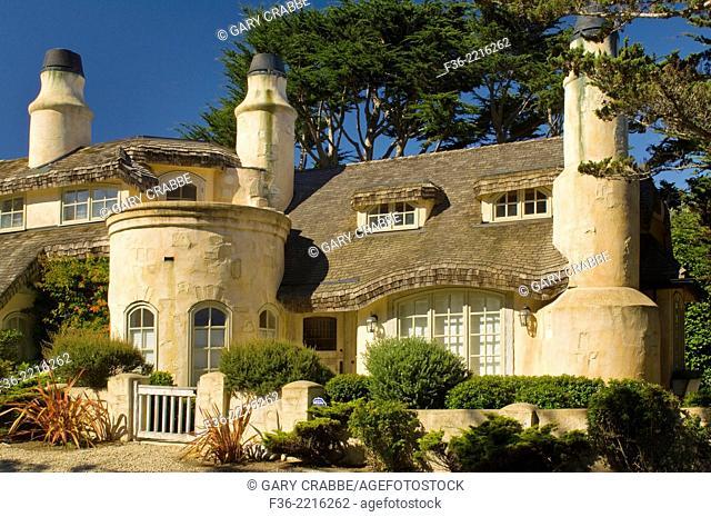 Lavish home along Scenic Drive, Carmel-by-the-Sea, Carmel, Monterey Peninsula, California