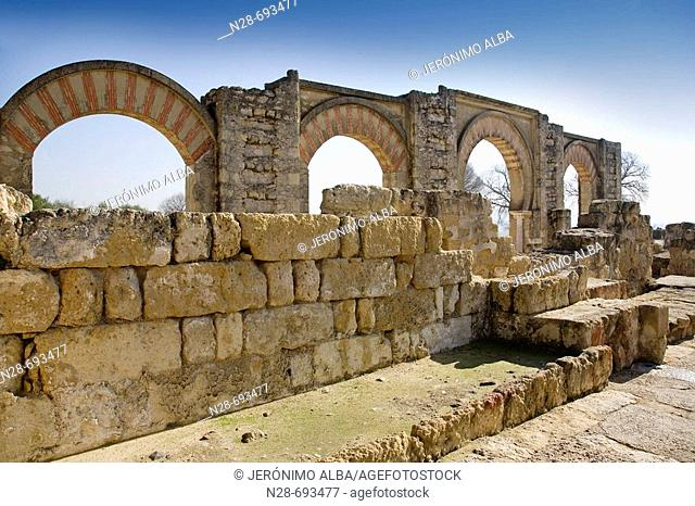 Madinat Al-Zahra (Medina Azahara). City built by order of Abd al-Rahman III (Abderraman III) between 936 - 961 as a seat of new Caliphate