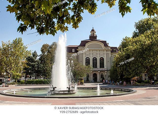 Plovdiv Municipality, Stefan Stambolov square, Plovdiv, Bulgaria