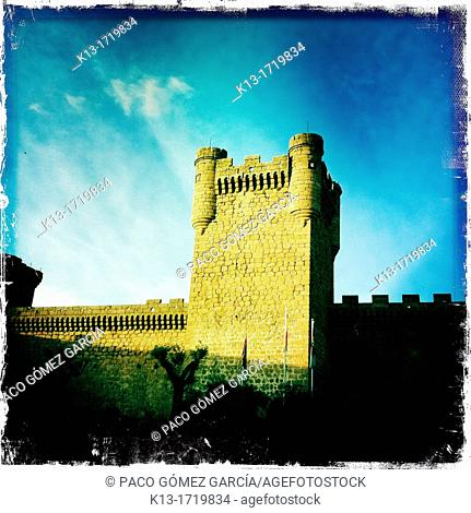 14th Century Castle of Oropesa, Toledo, Castilla-La Mancha, Spain
