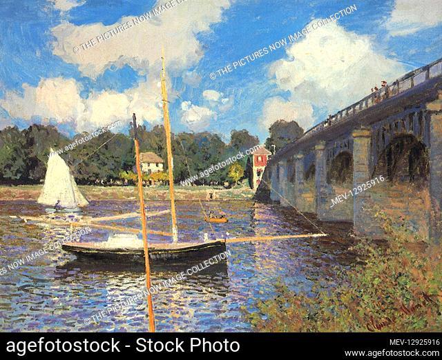 The Bridge at Argenteuil, by Monet