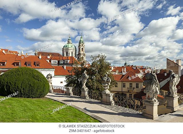 Vrtba Garden in Prague, Czechia