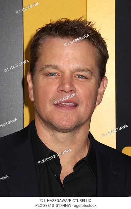 "Matt Damon 05/07/2019 The U.S. Premiere of Hulu's """"CATCH-22"""" held at The TCL Chinese Theatre in Los Angeles, CA Photo by I"