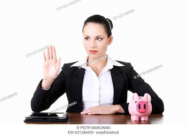 Modern banking concept