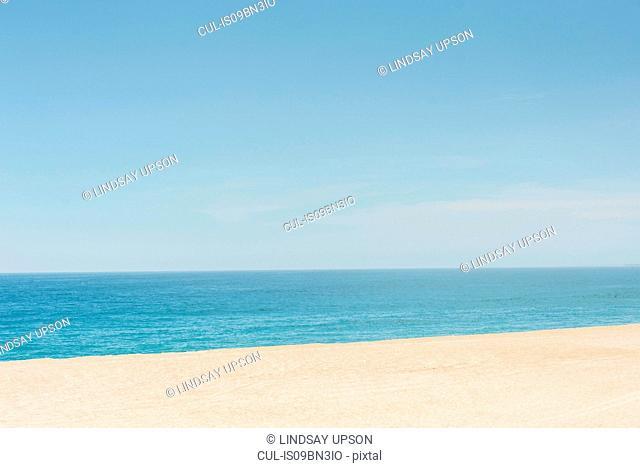 Calm sea in summer
