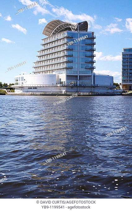 The luxury 5 star St Davids hotel situated at Cardiff bay