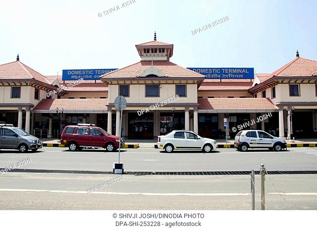 Domestic terminal of airport, kochi, kerala, india, asia