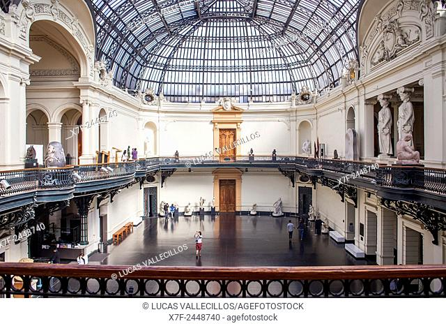 Museo Nacional de Bellas Artes (National Museum of Fine Arts), Bellas Artes neighborhood, Santiago. Chile