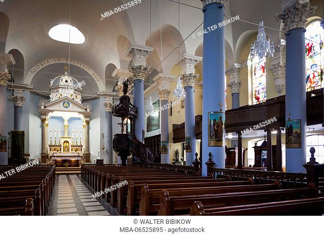 Ireland, County Waterford, Waterford City, Holy Trinity Cathedral, interior