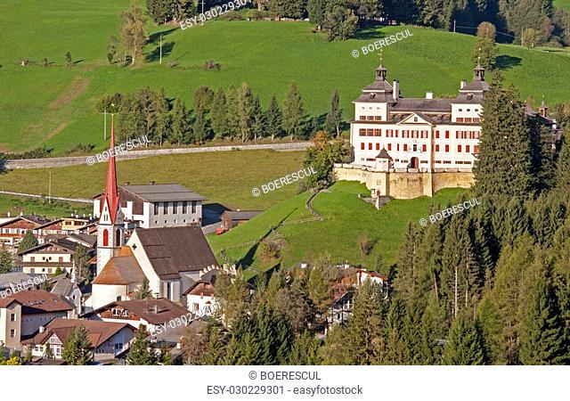 Mareit - Mareta (Racines - Ratching) village in Italy, south Tyrol