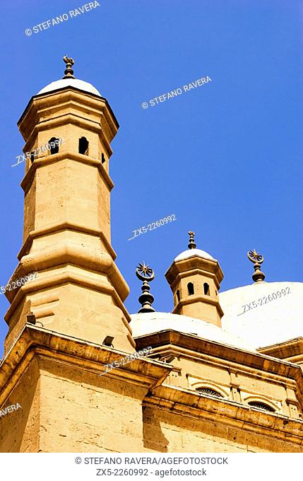 Detail of Muhammad Ali Mosque - The Saladin Citadel, Cairo, Lower Egypt