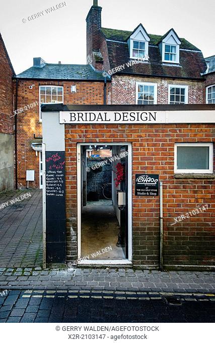 Backstreet bridal shop (Ringwood, Hampshire)