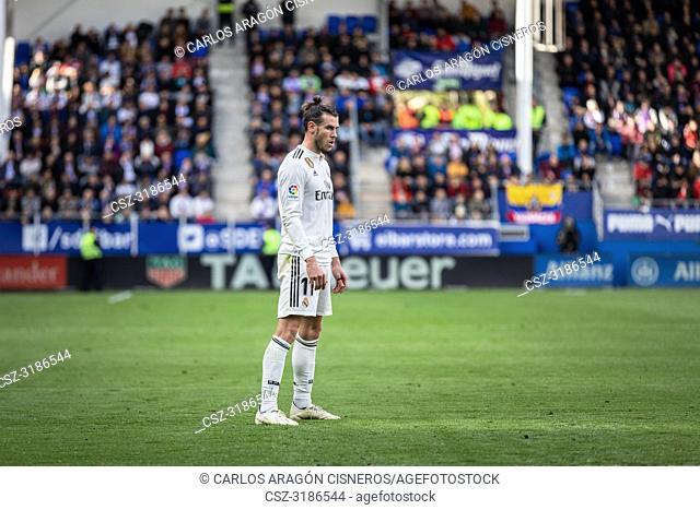 Gareth Bale, Real Madrid player during the La Liga match between Eibar and Real Madrid CF at Ipurua Stadium on November 24, 2018 in Eibar, Spain