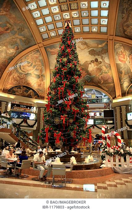Christmas in the department store Galeria Pacifico in Florida, Buenos Aires, Argentina, South America