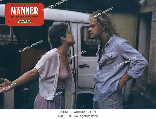 Männer ..., Deutschland 1985, Regie: Doris Dörrie, Darsteller: Marie Charlott Schüler, Uwe Ochsenknecht