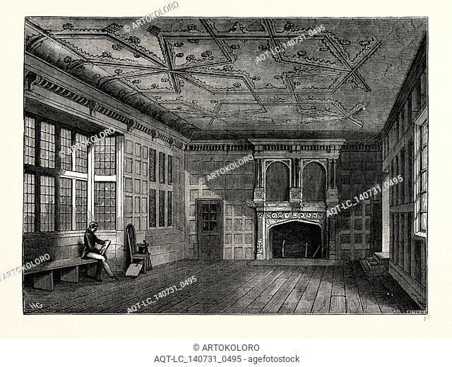 THE STAR CHAMBER, 1836, London, UK, 19th century engraving