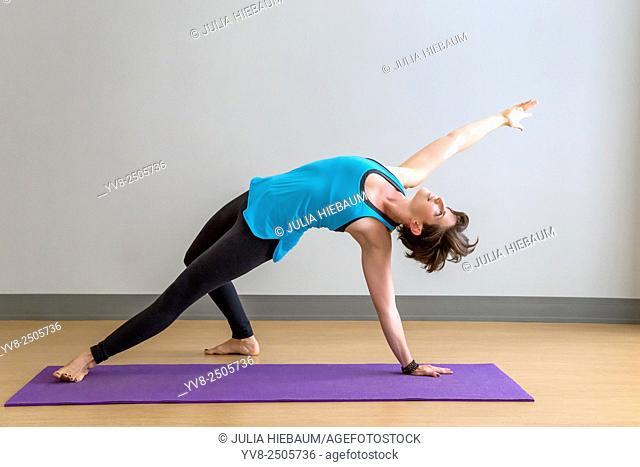 Camatkarasana yoga pose