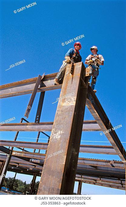 Ironworkers. Sacramento, California. USA