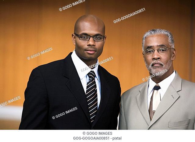 African businessmen