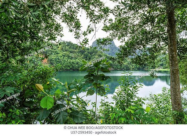 Bau lake, Bau, Sarawak, Malaysia