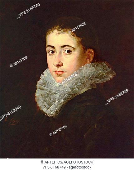 Gonzales Eva - Portrait of a Young Woman