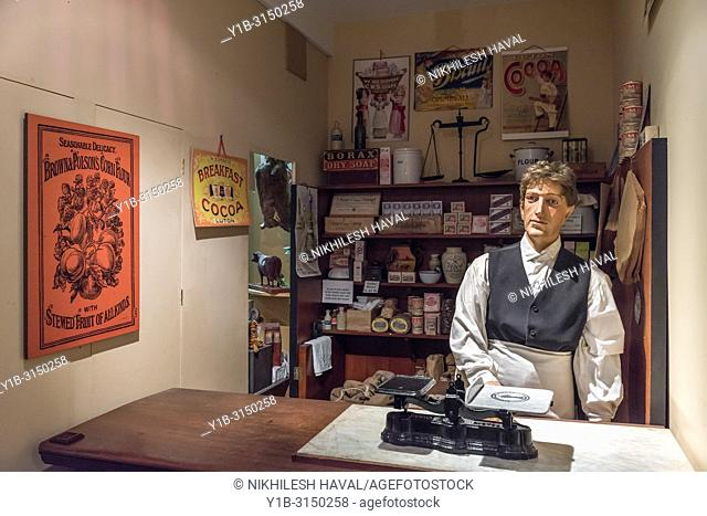 Victorian Co-operative Shop, Milestones Museum, Basingstoke, Hampshire, UK